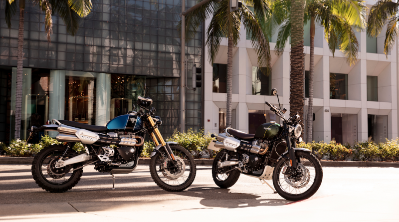 scrambler 1200xe and xc