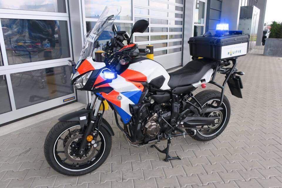 Foto politie motor