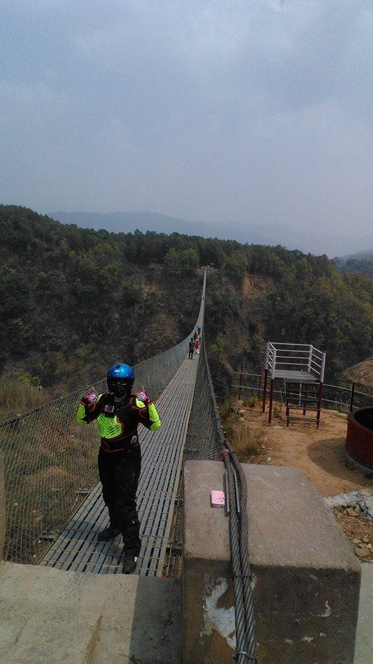 Nepal motorvakantie