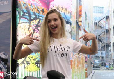 MotormeidenT-shirt feestelijk gelanceerd op MOTORbeurs Utrecht