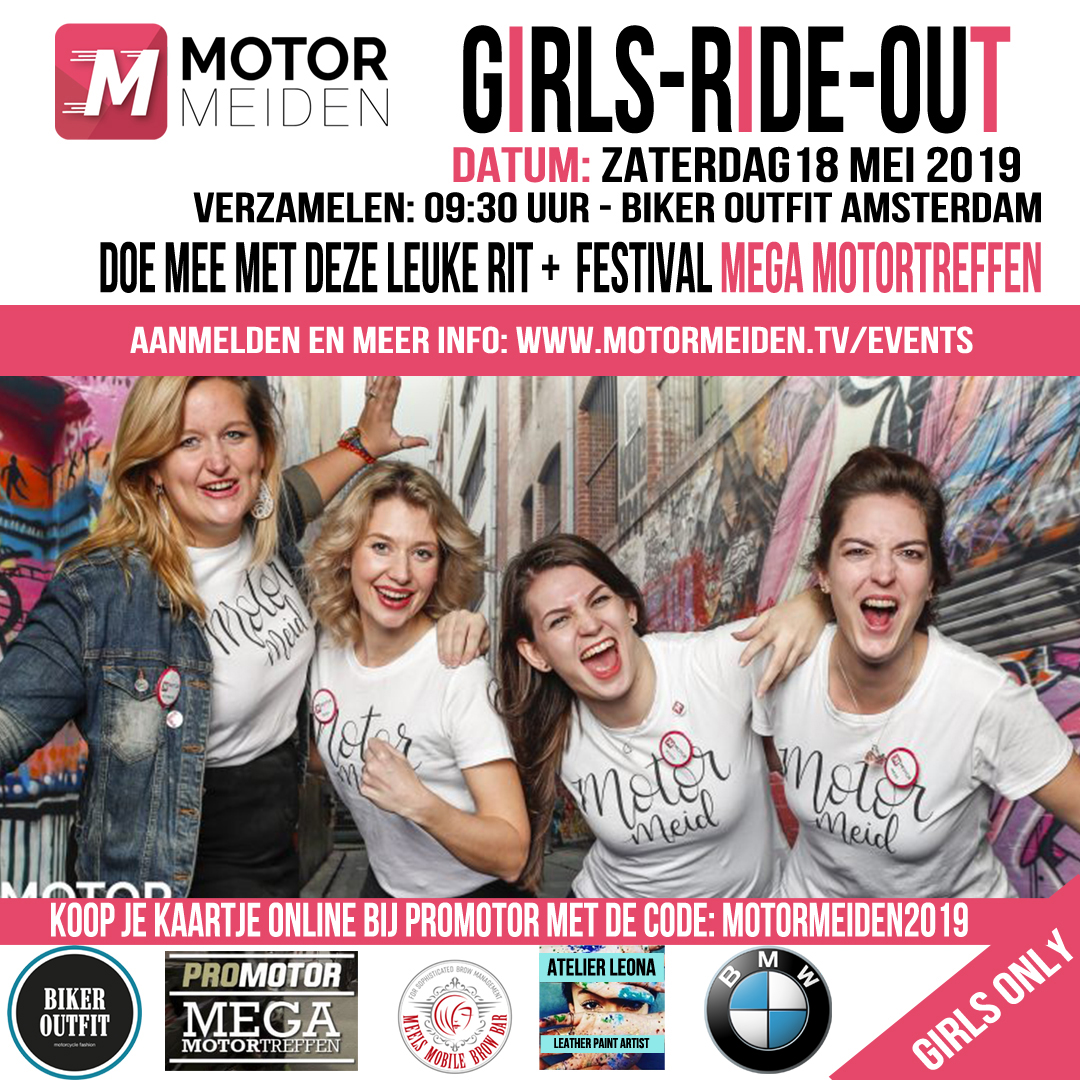 girls ride out 2019 BMW
