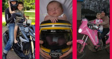 Fijne moederdag aan alle motormoeders!