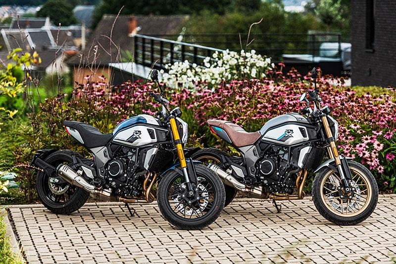 CFMOTO 700 CL-X Heritage in twee kleurstellingen