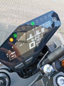 Helder afleesbaar 'inverted' LCD scherm